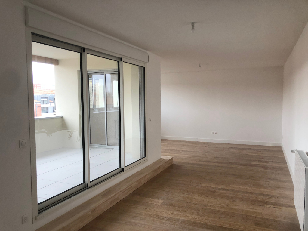 Toulouse - quartier Les Chalets, Jeanne d'Arc - Appartement T4 avec terrasse et parking